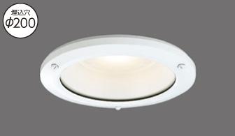 LEDD16903-LD9 LED光源交換形ダウンライト照明器具画像