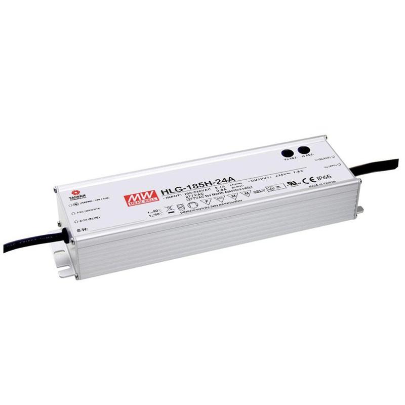 HLG-185H-24A LED電源画像