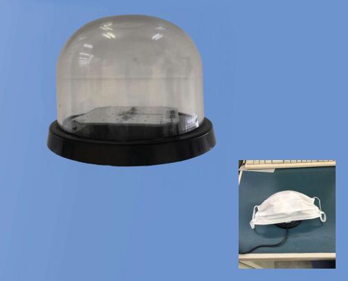 UVBOX365 UVA紫外線LED卓上消毒灯画像