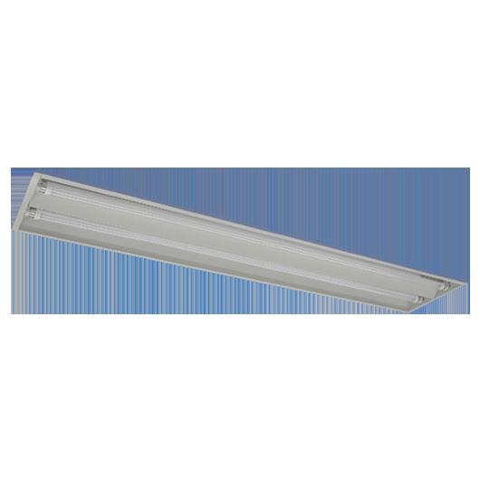 LED直管用埋込型灯具