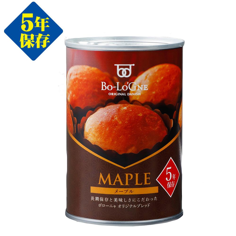 備蓄deボローニャ ブリオッシュタイプ メープル(1缶2個入 5年保存)画像
