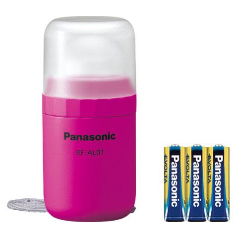 Panasonic パナソニック 乾電池EVOLTA付き LEDランタン ビビッドピンク BF-AL01K-R画像