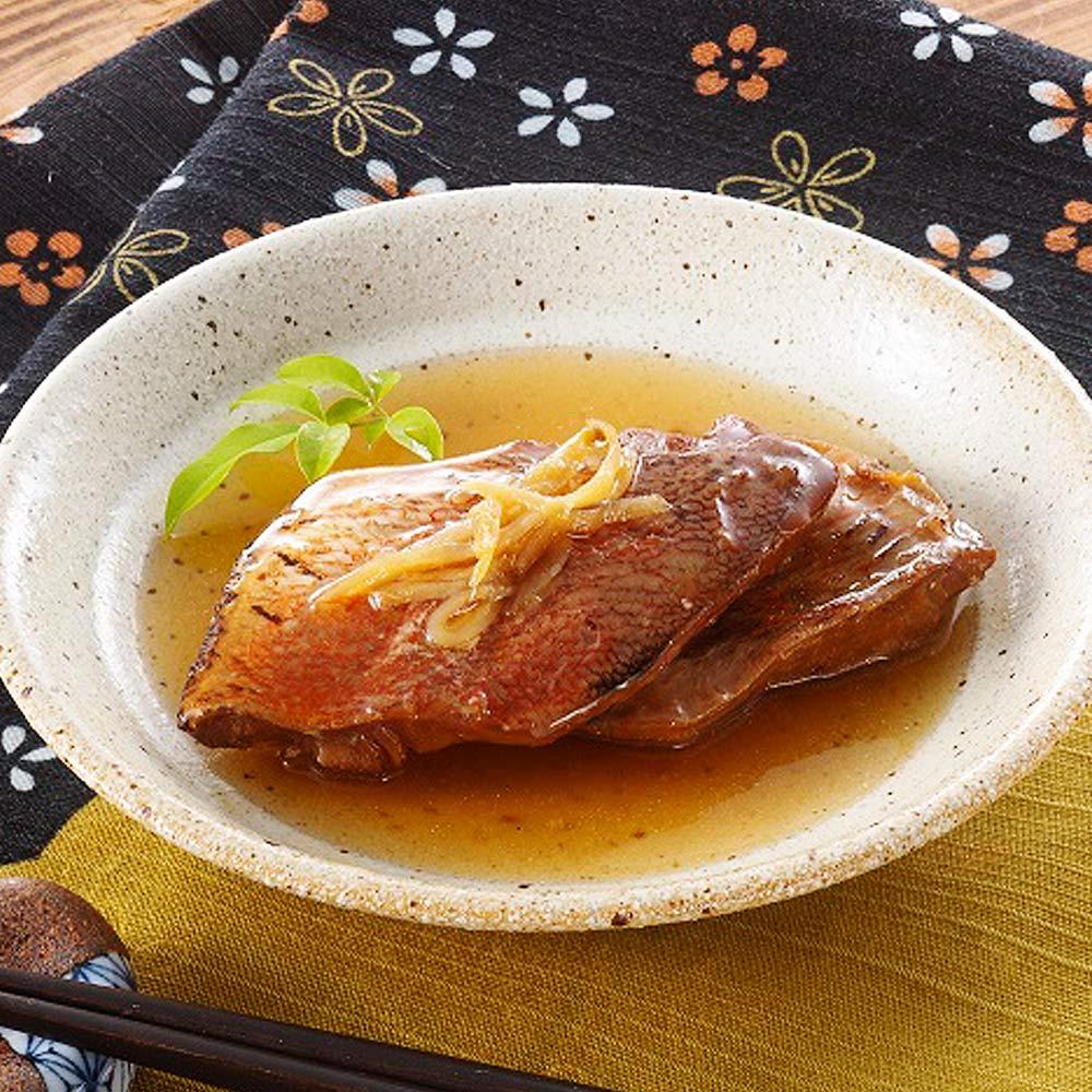 美味しい防災食赤魚の煮付のイメージ