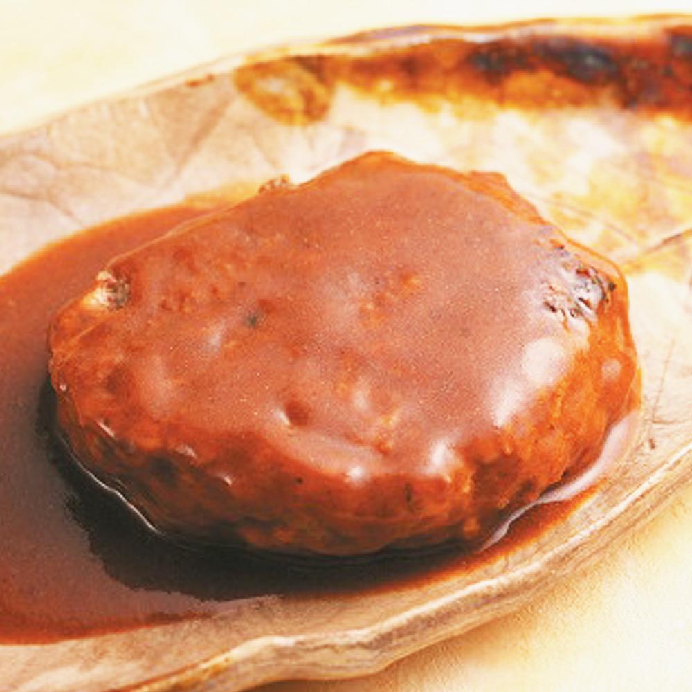 美味しい防災食ハンバーグ煮込みのイメージ