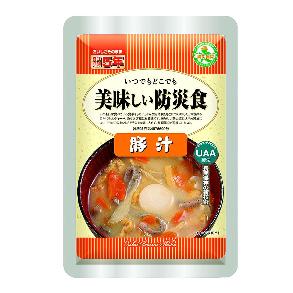UAA食品 美味しい防災食 豚汁の画像