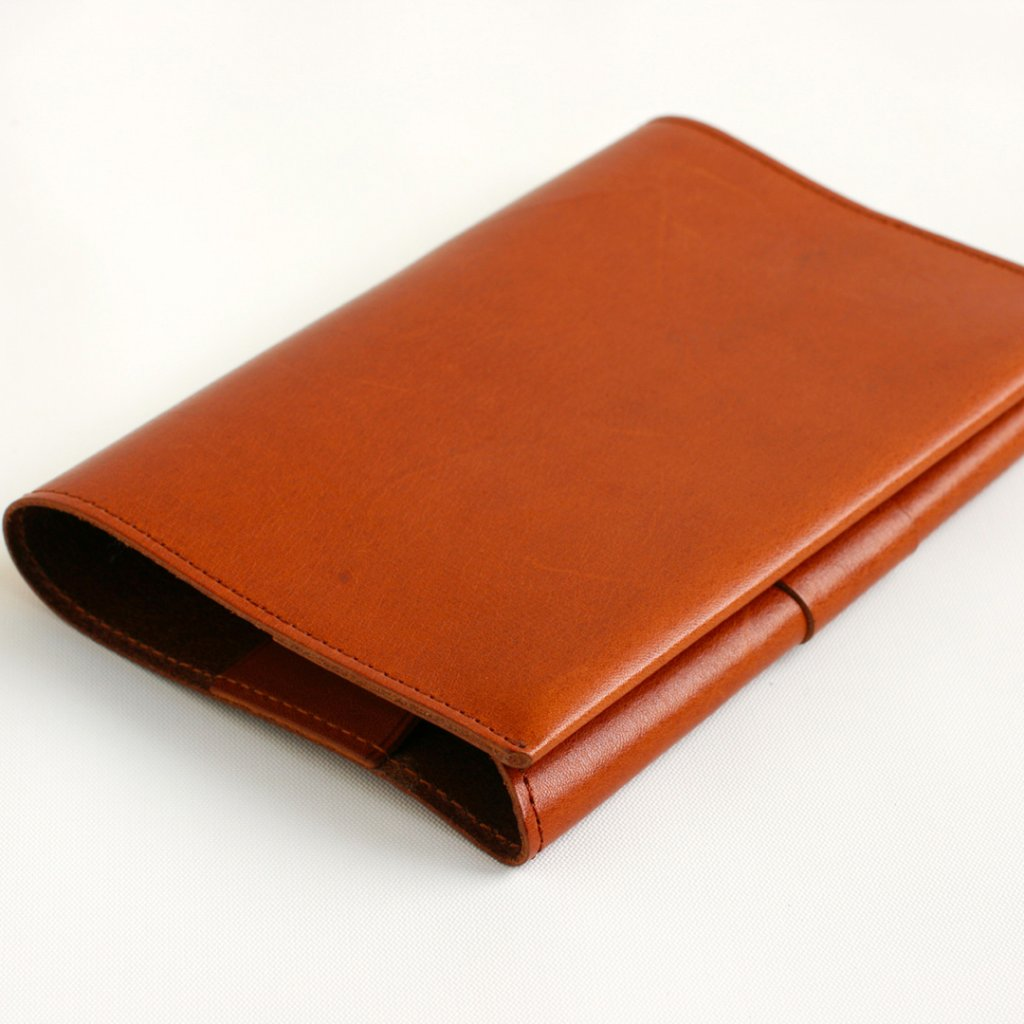 BOOKCOVER BASIC brownの画像