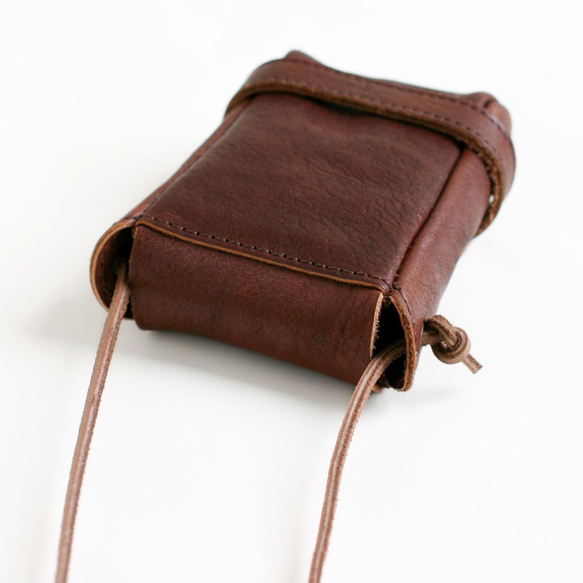 pouch sizeS choco画像