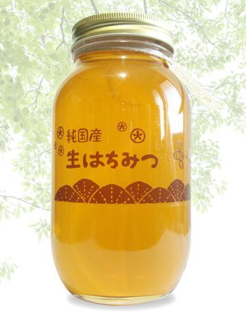 純国産生はちみつ カラスザンショウ蜂蜜 1.2kg画像