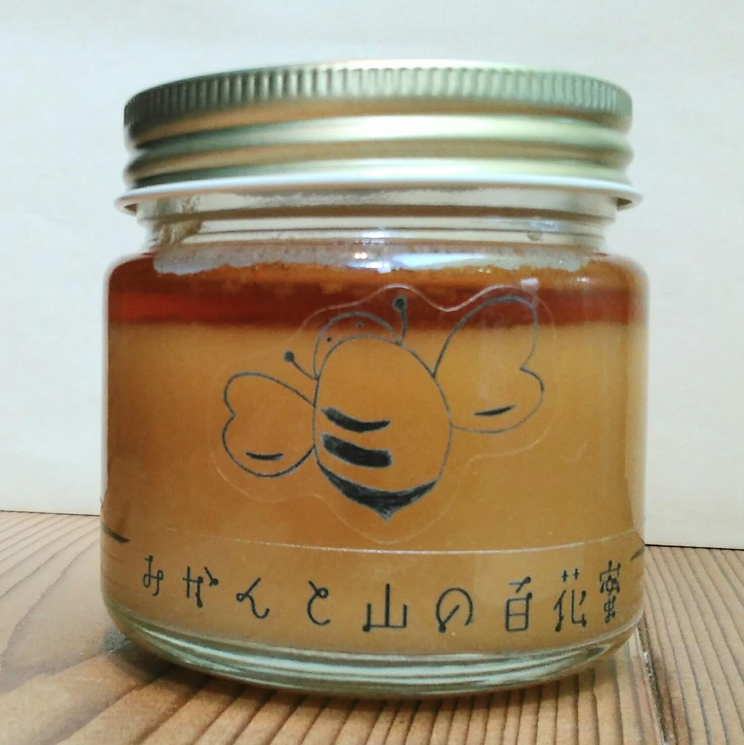☆結晶蜂蜜☆みかんと山の百花蜜150g画像