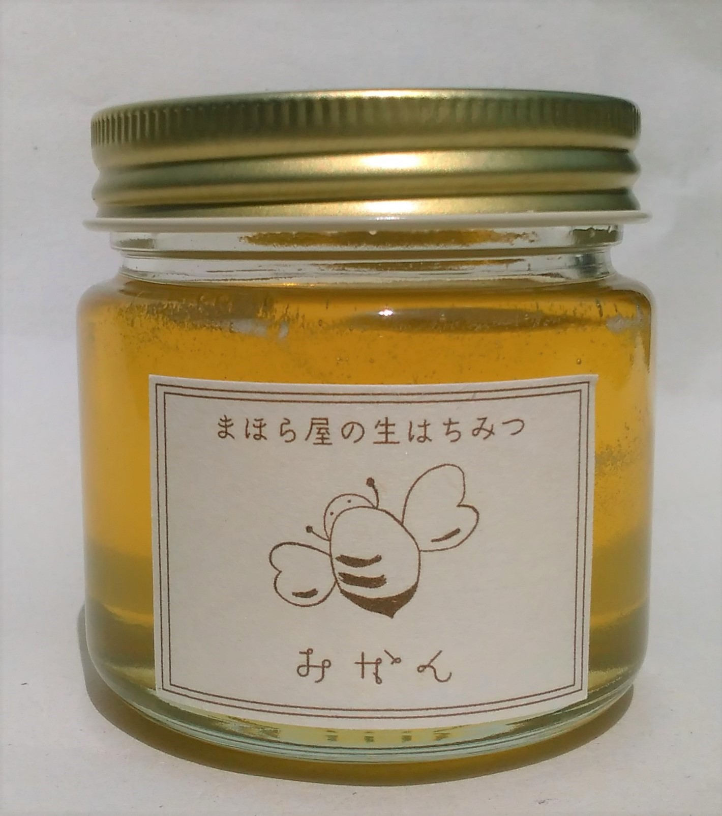 湯河原産みかん蜂蜜(結晶蜂蜜)150g画像