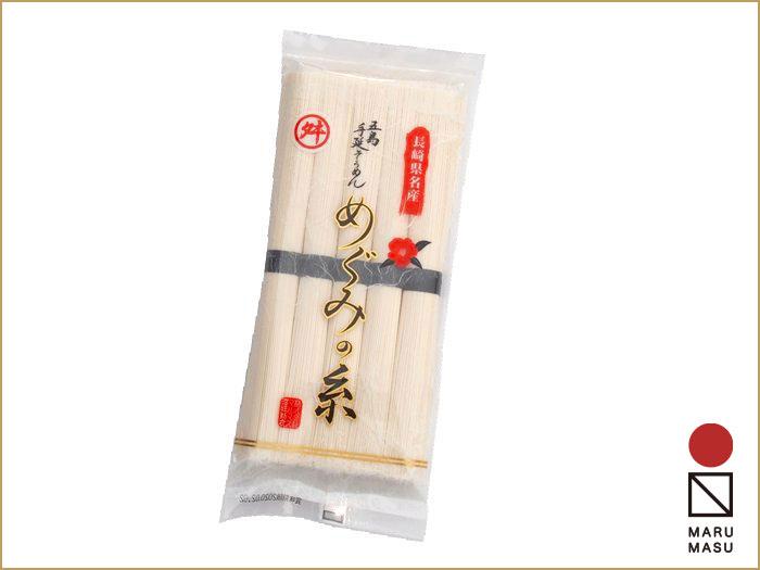 五島手延べそうめん「めぐみの糸」 250g  夏の食卓には素麺・五島の「手延べ技」でつくった「マルマスのそうめん」画像