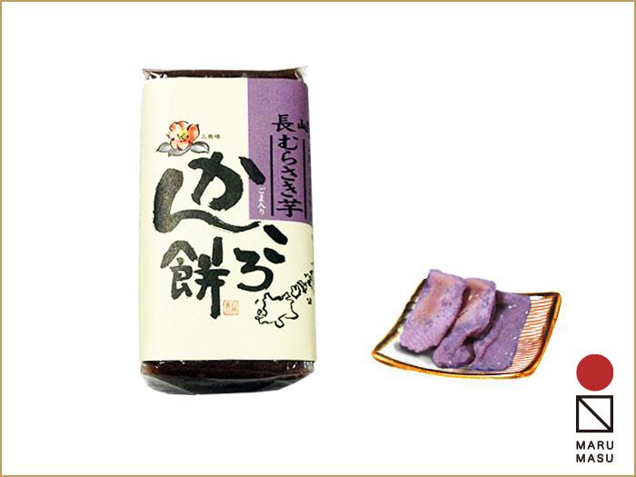 五島・むらさき芋かんころ餅・200g |通販やお土産の人気が高い手作りの郷土菓子 |国見屋画像