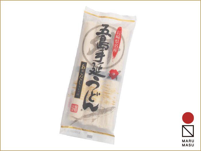 3束五島うどん・スープ付(麺80g×3・スープ10g×3)|手土産やご自宅の食卓にお奨めです。画像