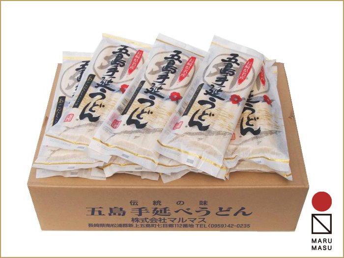 3束五島うどんスープ付(麺80g×3・スープ10g×3)30袋詰合せ ボリュームたっぷりの贈答好適品・産地直送画像