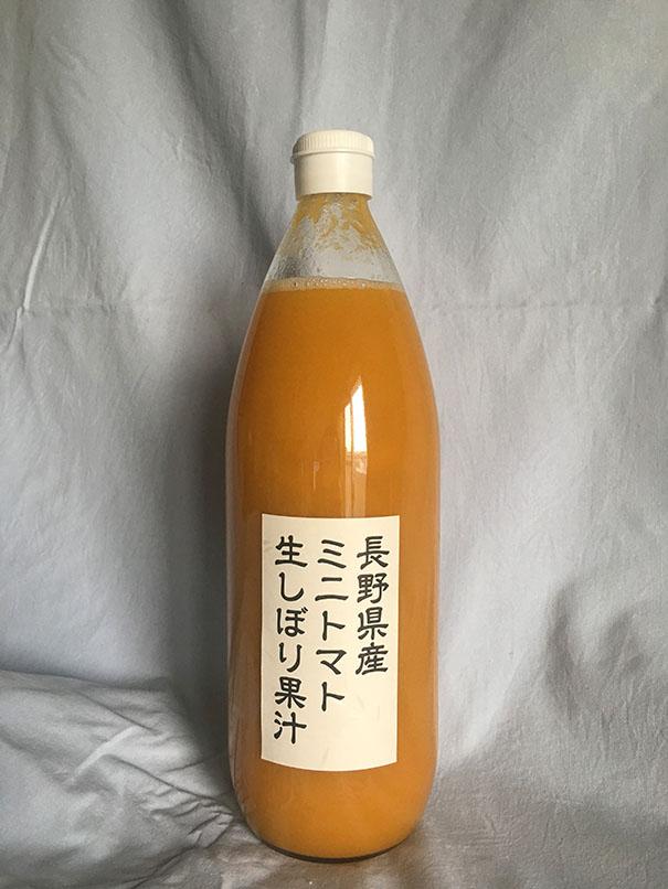 長野県産ミニトマトジュース 6本セットの画像