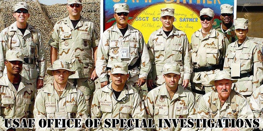 アメリカ空軍特別捜査局特別捜査官