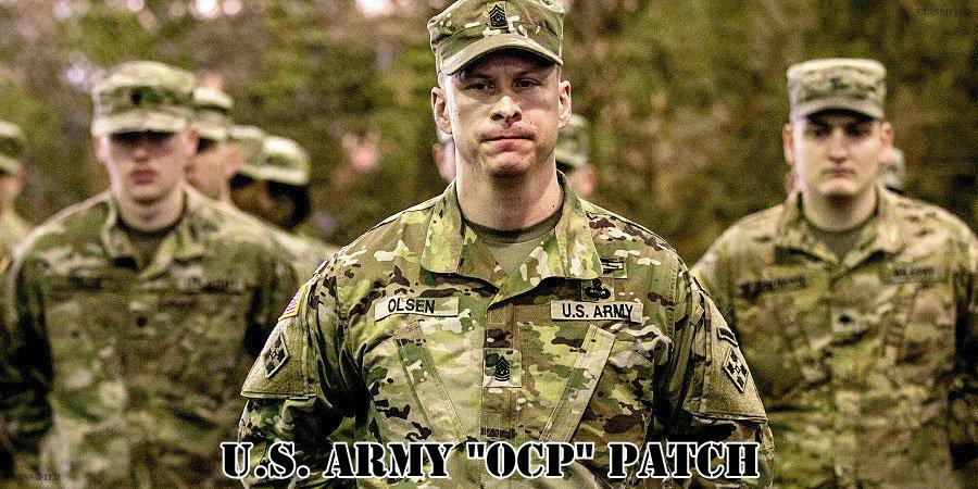 アメリカ陸軍OCPパッチ