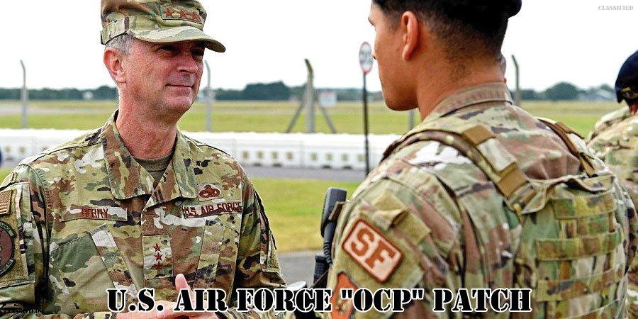 アメリカ空軍OCPパッチ