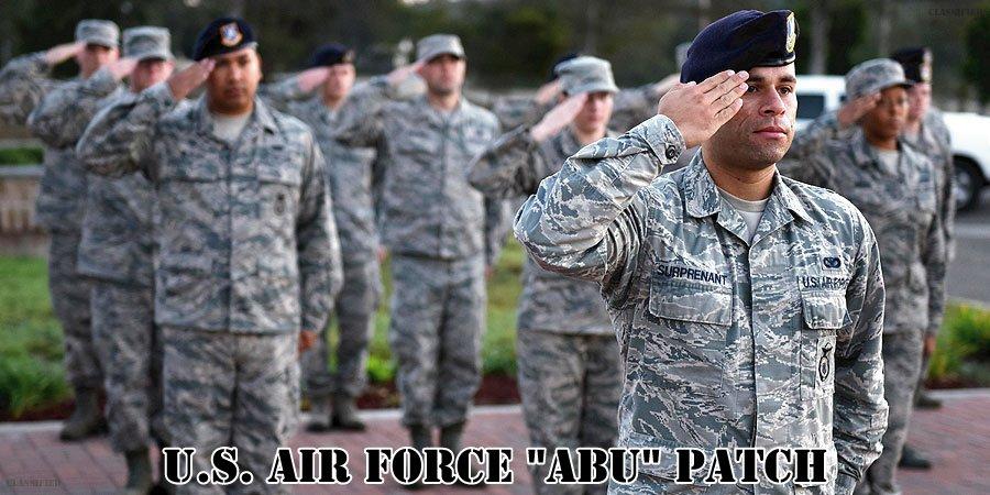 アメリカ空軍ABUパッチ
