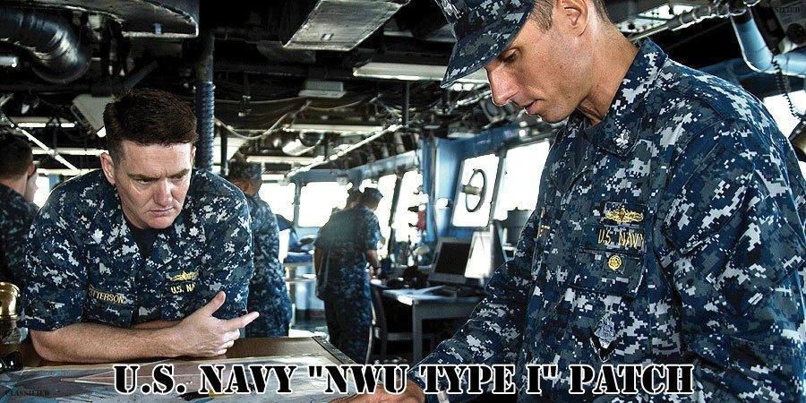 アメリカ海軍NWU(TYPE1)パッチ