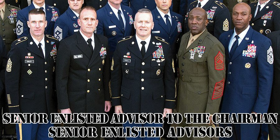 アメリカ統合参謀本部議長付先任下士官顧問/先任下士官顧問