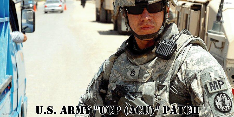 アメリカ陸軍UCP(ACU)パッチ