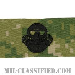 Marine Corps Combatant Diver [NWU Type3(AOR2)/生地テープパッチ]の画像