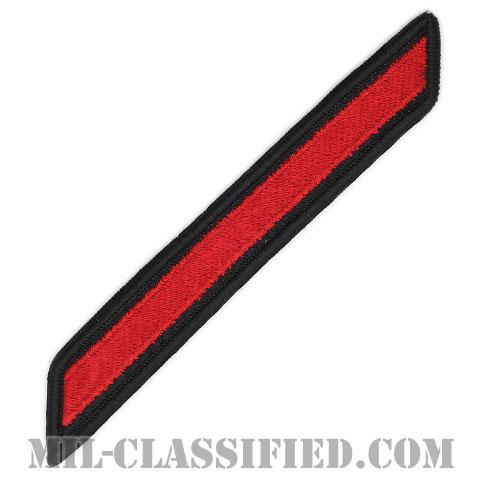 年功章 1連(勤続4年)(Service Stripe, Hash Mark)[ネイビーブルー(レッド)/海軍サービスストライプ(ハッシュマーク)/男性用(E1-E6)/パッチ]画像