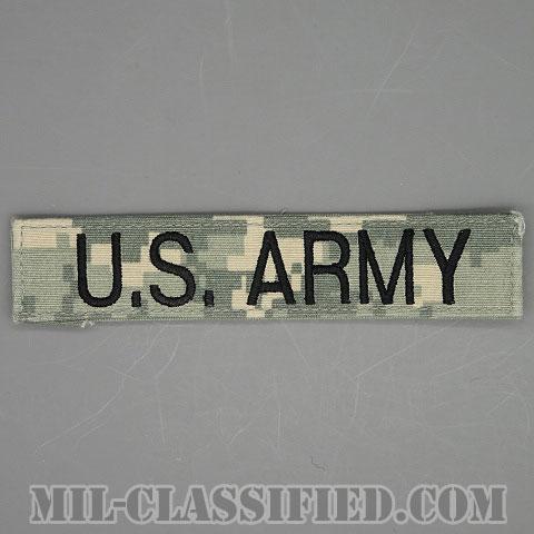 U.S.ARMY [UCP(ACU)/ブラック刺繍/ネームテープ/ベルクロ付パッチ/中古1点物]画像