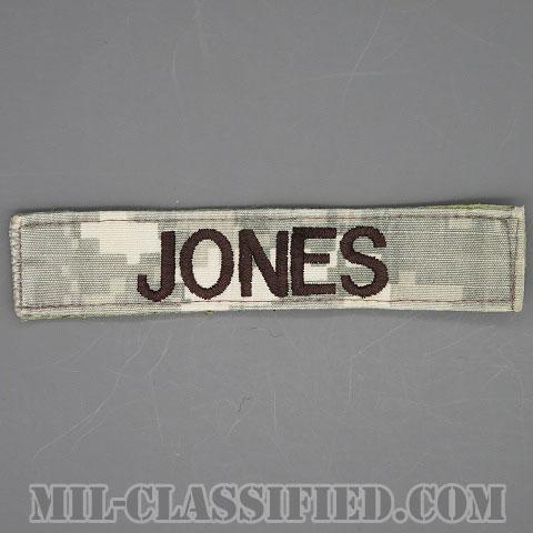 JONES [UCP(ACU)/ブラック刺繍/ネームテープ/ベルクロ付パッチ/中古1点物]画像