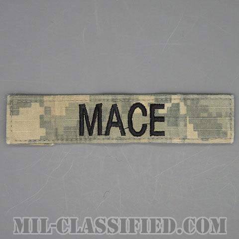 MACE [UCP(ACU)/ブラック刺繍/ネームテープ/ベルクロ付パッチ/中古1点物]画像