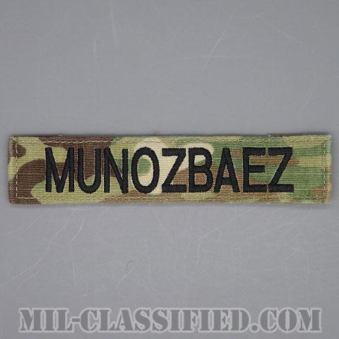 MUNOZBAEZ [OCP/ブラック刺繍/ネームテープ/ベルクロ付パッチ/中古1点物]画像