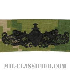 Enlisted Surface Warfare Specialist[NWU Type3(AOR2)/生地テープパッチ]画像