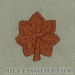 少佐(Major (MAJ))[ABU/空軍階級章/パッチ/ペア(2枚1組)]の画像