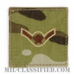 二等空兵(Airman)[OCP/空軍階級章/ベルクロ付パッチ]の画像