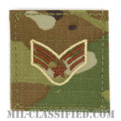 上等空兵(Senior Airman)[OCP/空軍階級章/ベルクロ付パッチ]の画像