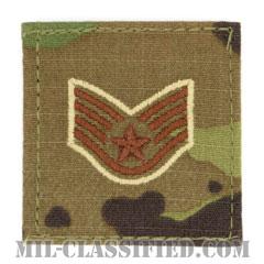 軍曹(Staff Sergeant)[OCP/空軍階級章/ベルクロ付パッチ]の画像
