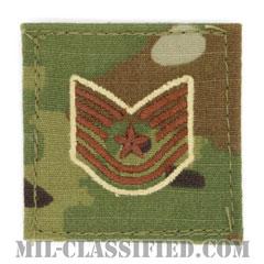 技能軍曹(Technical Sergeant)[OCP/空軍階級章/ベルクロ付パッチ]の画像