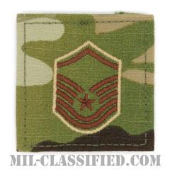 曹長(Master Sergeant)[OCP/空軍階級章/ベルクロ付パッチ]の画像