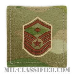 先任曹長(First Sergeant (E-7))[OCP/空軍階級章/ベルクロ付パッチ]の画像
