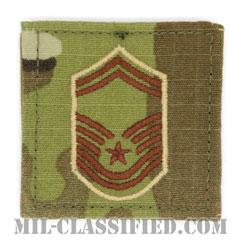 上級曹長(Senior Master Sergeant)[OCP/空軍階級章/ベルクロ付パッチ]の画像