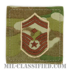 先任上級曹長(First Sergeant (E-8))[OCP/空軍階級章/ベルクロ付パッチ]の画像