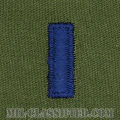 中尉(First Lieutenant (1LT))[サブデュード/空軍階級章/パッチ/ペア(2枚1組)]の画像