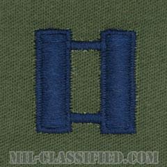 大尉(Captain (CPT))[サブデュード/空軍階級章/パッチ/ペア(2枚1組)]の画像