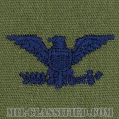 大佐(Colonel (COL))[サブデュード/空軍階級章/パッチ/ペア(2枚1組)]の画像