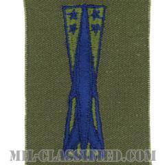 ミサイル整備章(Missile Maintenance Badge)[サブデュード/ブルー刺繍/パッチ]の画像