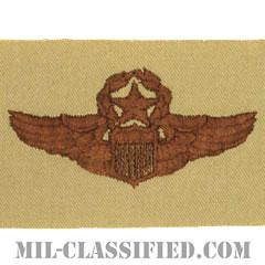 航空機操縦士章 (コマンド・パイロット)(Air Force Command Pilot Badge)[デザート/パッチ]の画像