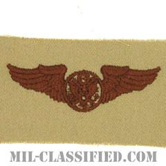 航空機搭乗員章 (下士官用エアクルー)(Air Force Enlisted Aircrew Badge)[デザート/パッチ]の画像