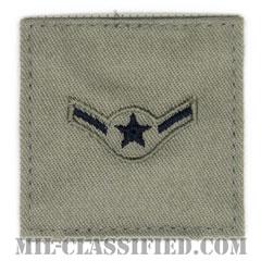 二等空兵(Airman)[ABU/空軍階級章/ベルクロ付パッチ]の画像