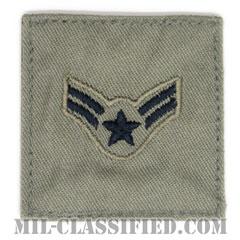 一等空兵(Airman First Class)[ABU/空軍階級章/ベルクロ付パッチ]の画像